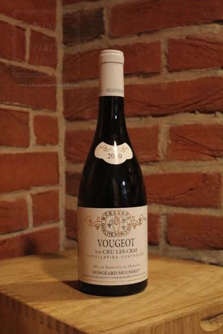 Vougeot Premier Cru Les Cras 2010 Mongeard Mugneret Bourgogne Co