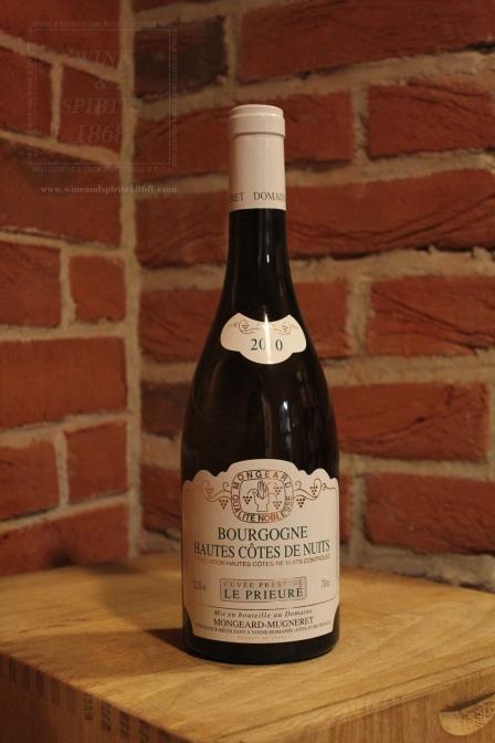 Bourgogne Hautes Cotes De Nuits La Prieure 2010 Mongeard Mugnere