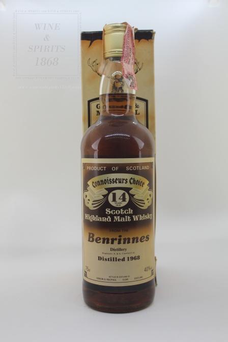 Whisky Benrinnes Distillery 14y o Connoisseurs Choice 1968 Benri