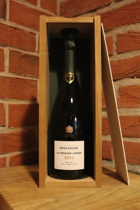Champagne Bollinger La Grande Annee Coffret 2012