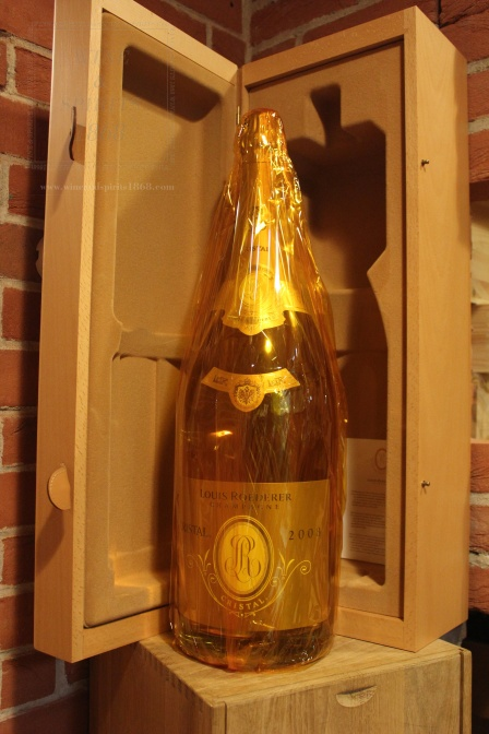 Champagne Cristal 2008 Imperiale 6 Lt
